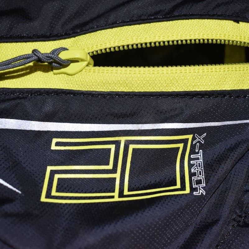 la tasca inferiore dello zaino Ferrino X-track 20