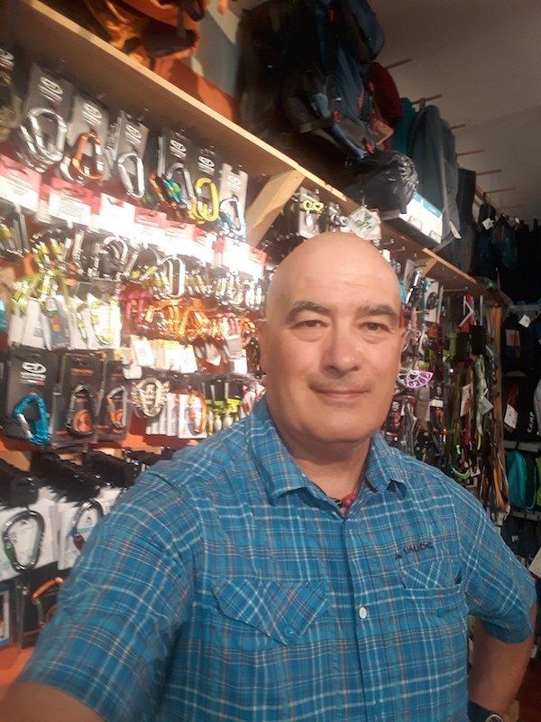 Giovanni Viganò - Sherpa Mountain Shop