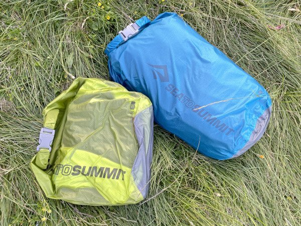 Recensione Sea to Summit dry sack