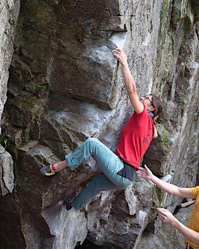 scarpette arrampicata boulder Drago