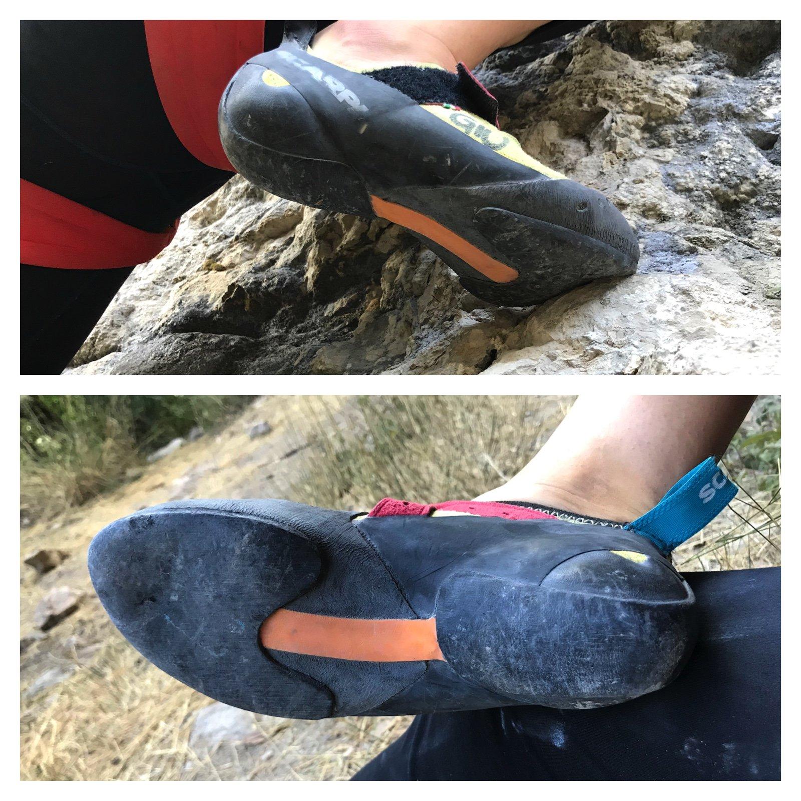 scarpette Scarpa Drago arrampicata