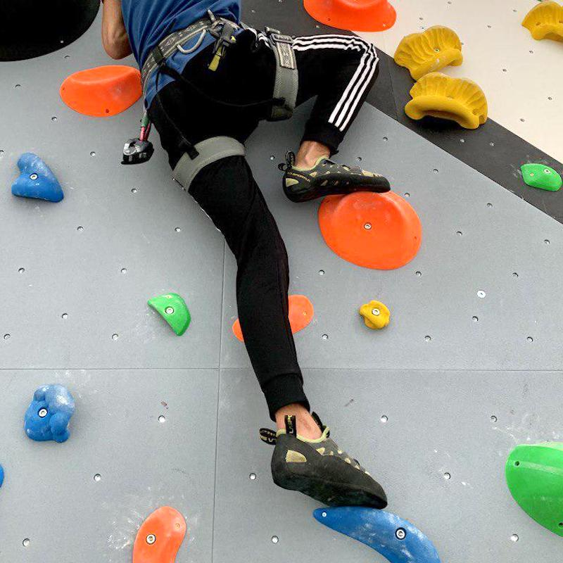 attrezzatura per l'arrampicata