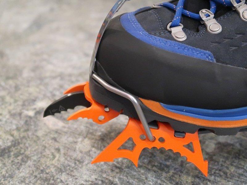 guida all'abbinamento tra scarponi e ramponi