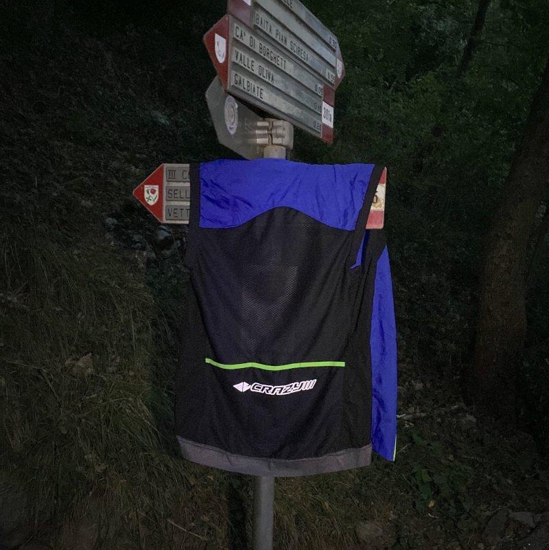 recensione gilet trail running