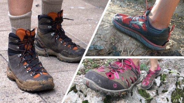Scarpe comode da montagna
