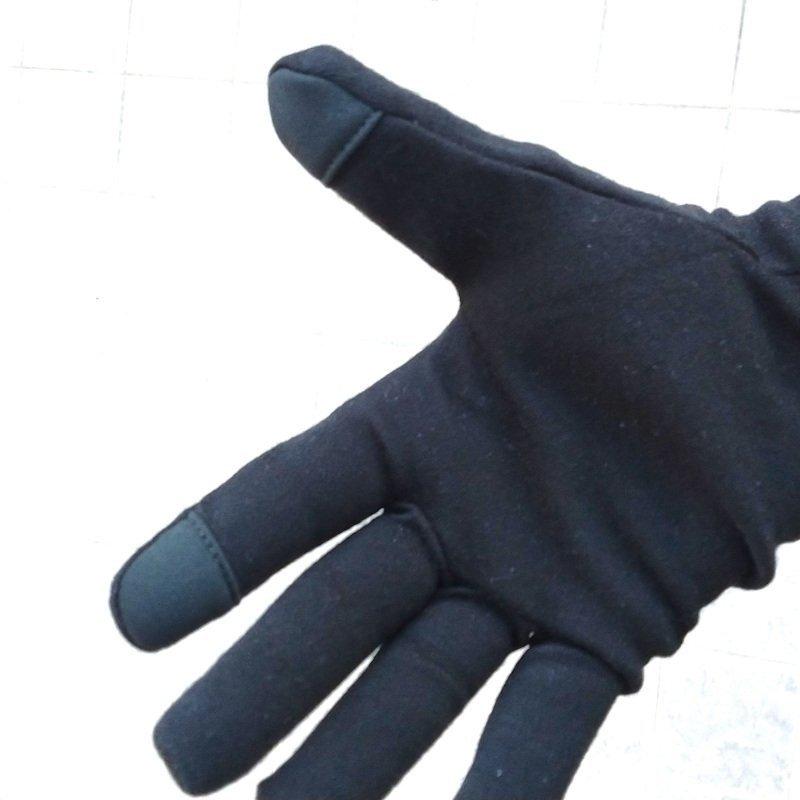 guanti lana merino per trail running