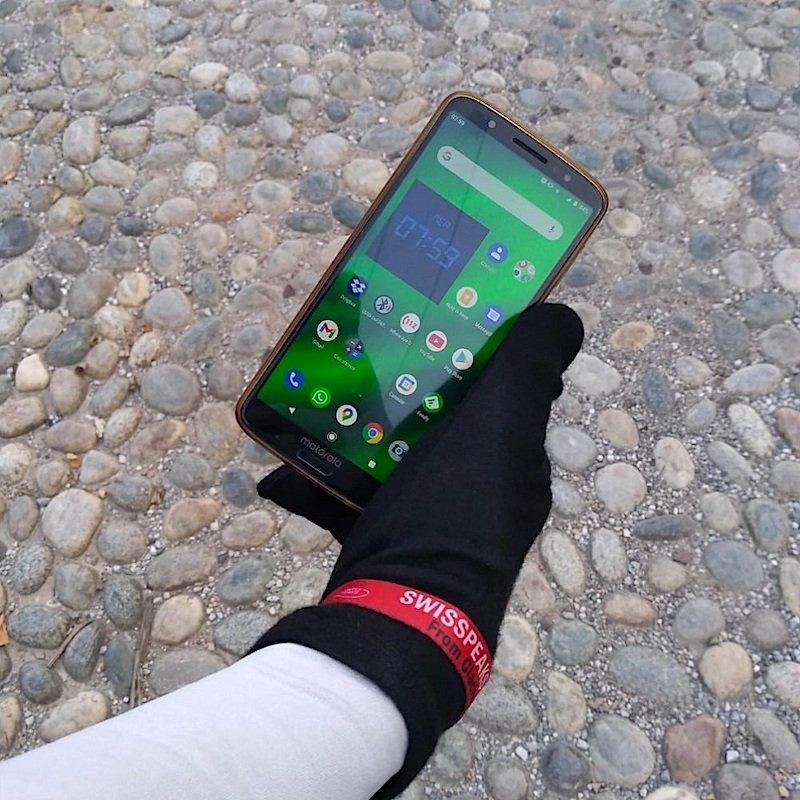 i guanti Woolly all'utilizzo con telefono