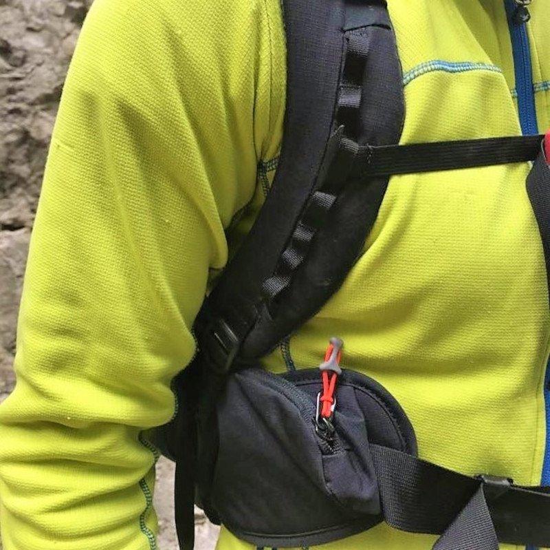 gli spallacci dello zaino da alpinismo Ferrino