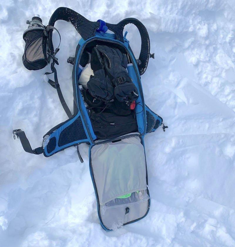 zaino scialpinismo arva