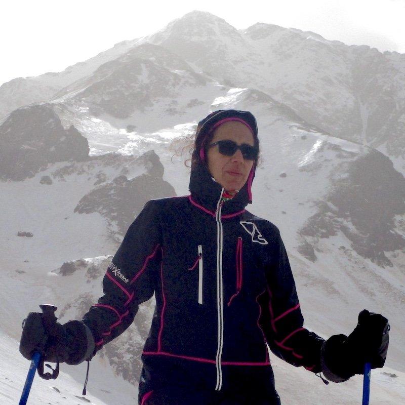 la giacca da scialpinismo Crazy modello donna