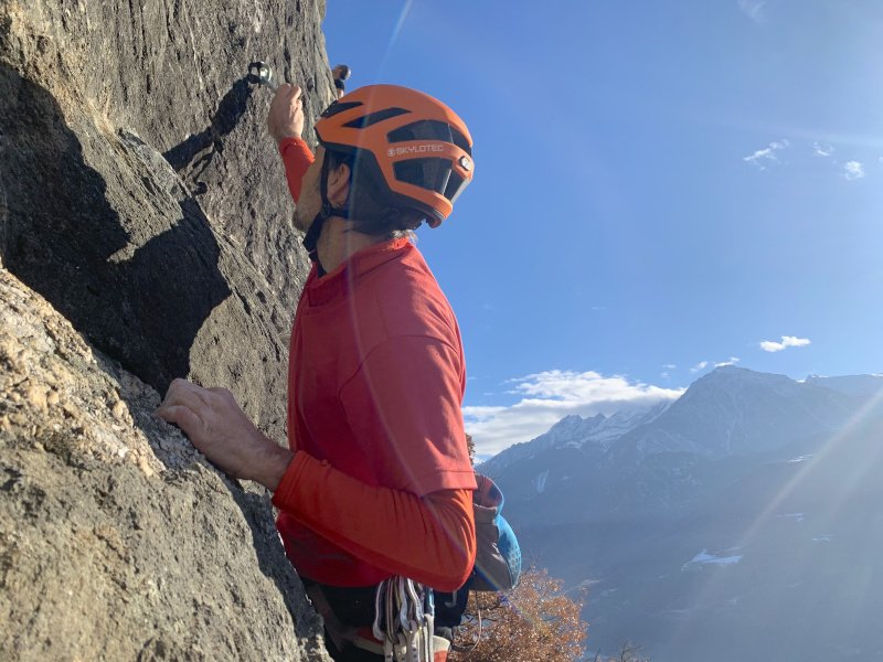 arrampicata in falesia