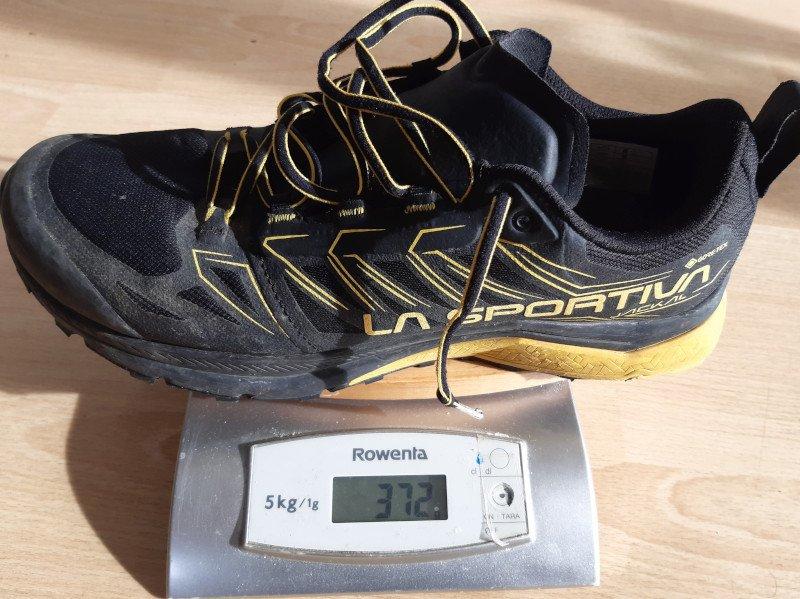 Peso scarpa invernale