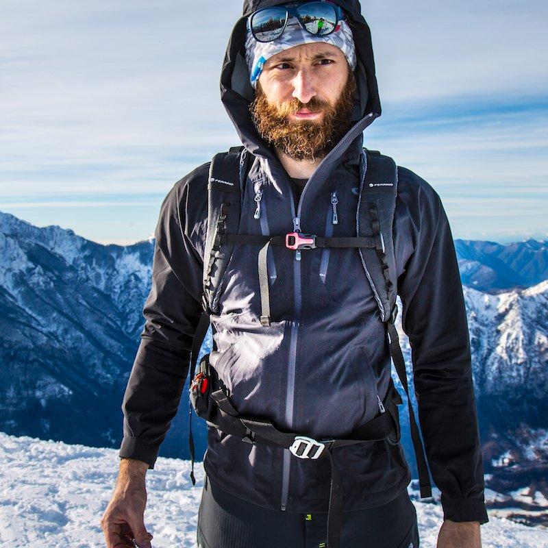 Recensione guscio tre strati alpinismo