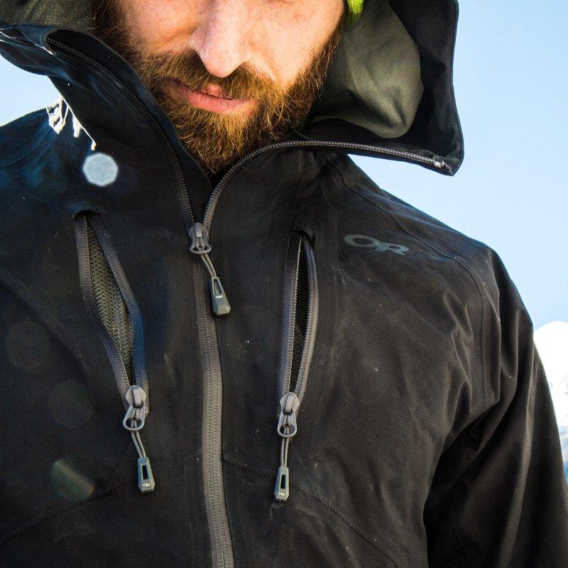 giacca microgravity indossabilità