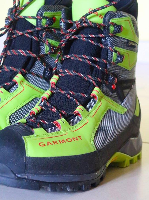 Allacciatura scarponi Garmont invernali