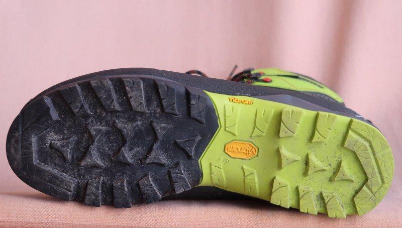 La suola Vibram degli scarponi invernali Garmont