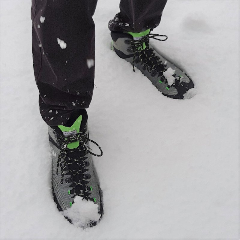 steinbock wt gtx sulla neve