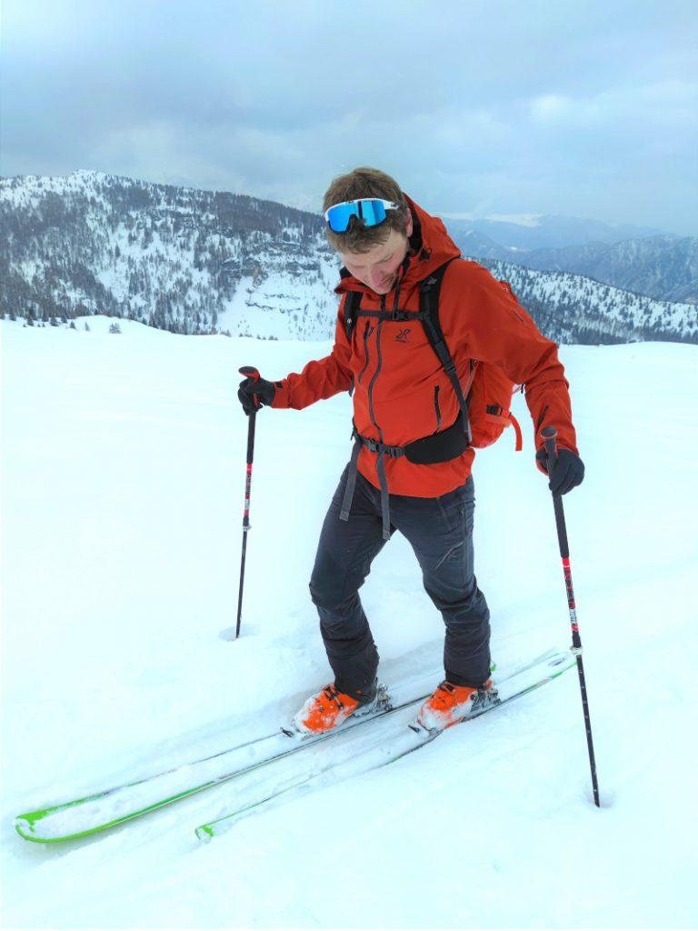recensione guscio alpinismo e scialpinimso