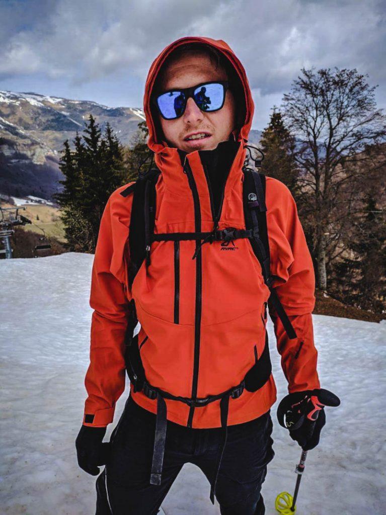 recensione guscio scialpinismo