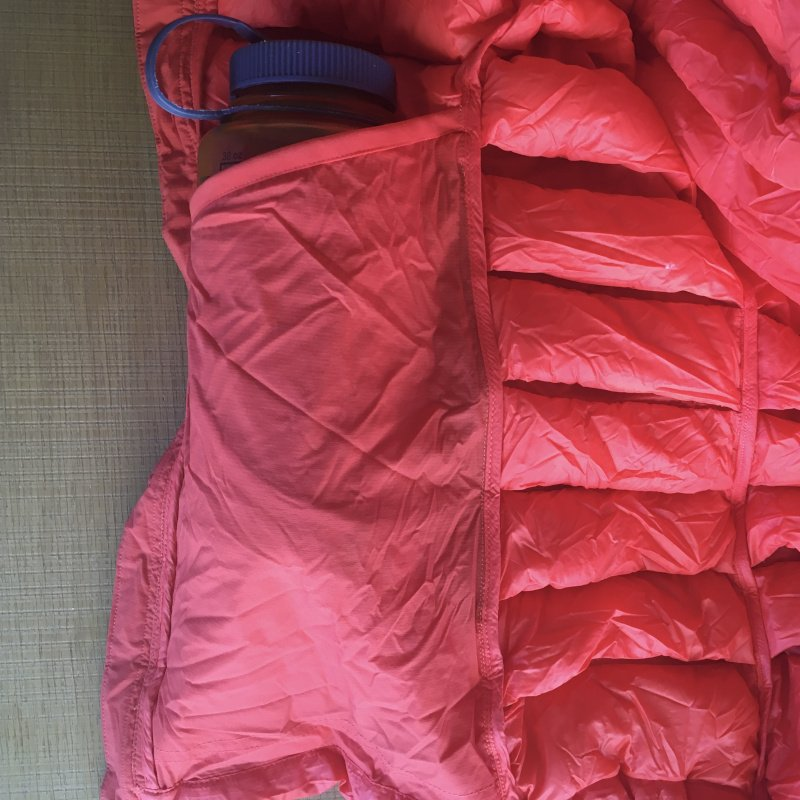 recensione piumino da montagna the north face