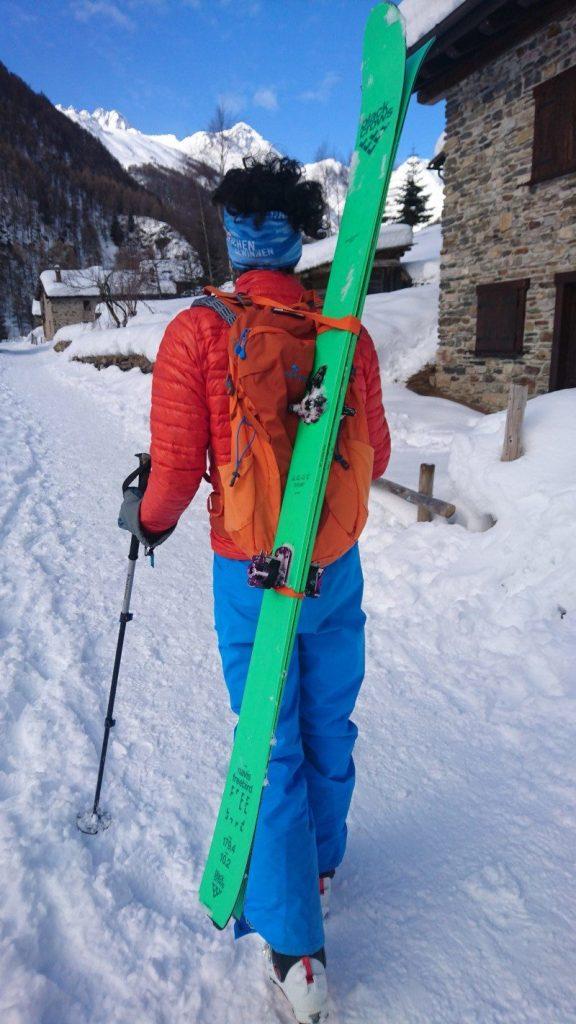 recensione zaino ferrino scialpinismo