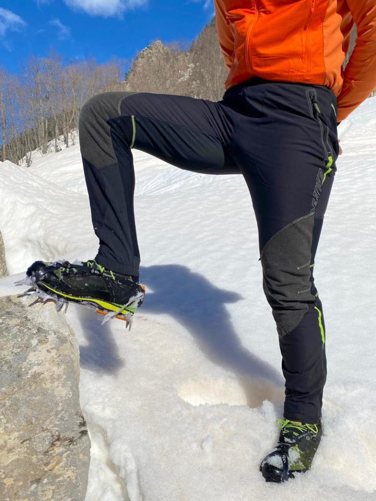 pantaloni vertigo alpinismo