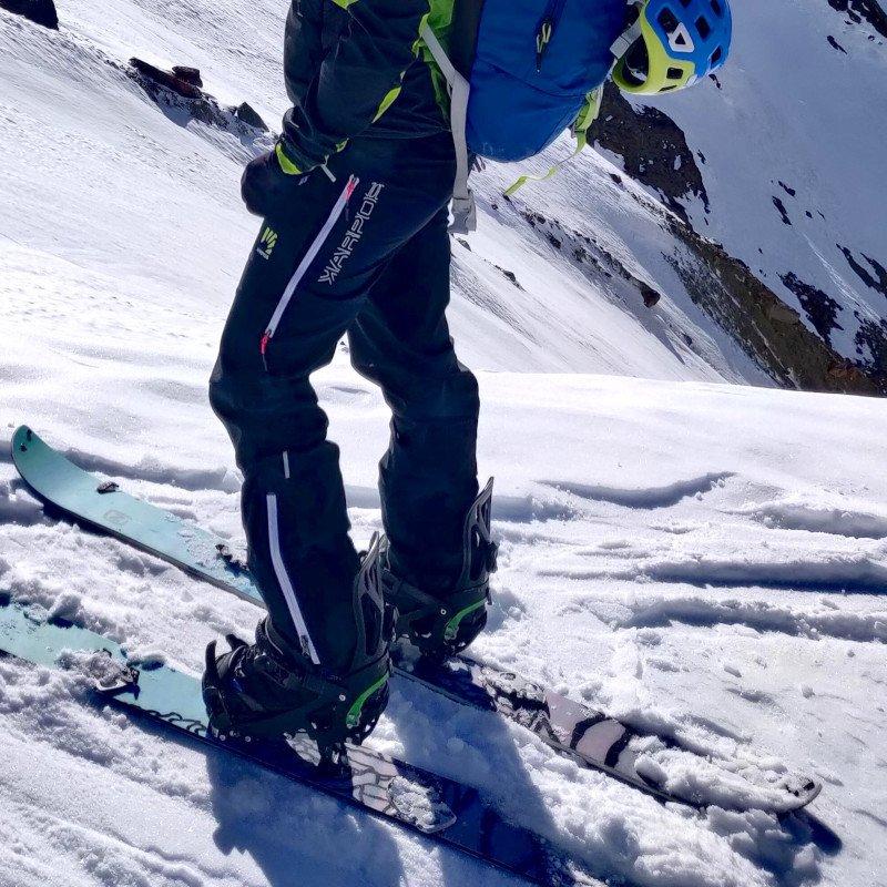 pantaloni karpos per splitboard e scialpinismo