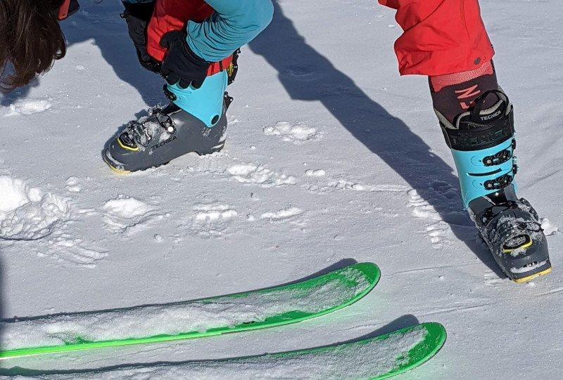 calze da scialpinismo anti vesciche