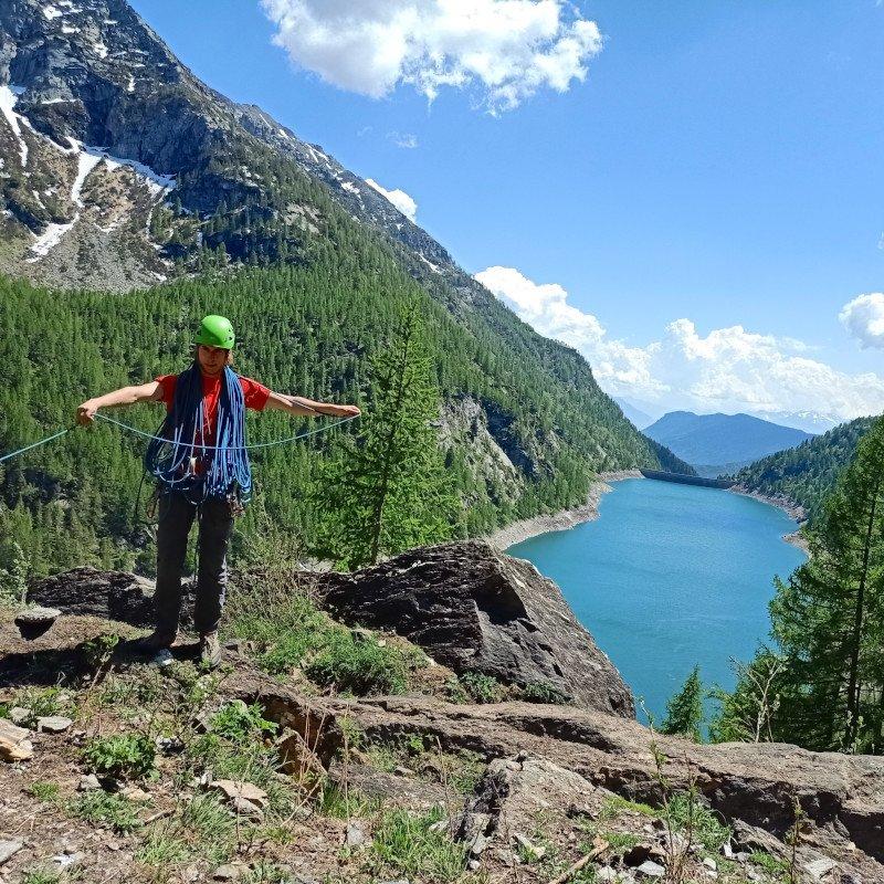 corda da arrampicata in montagna rumba