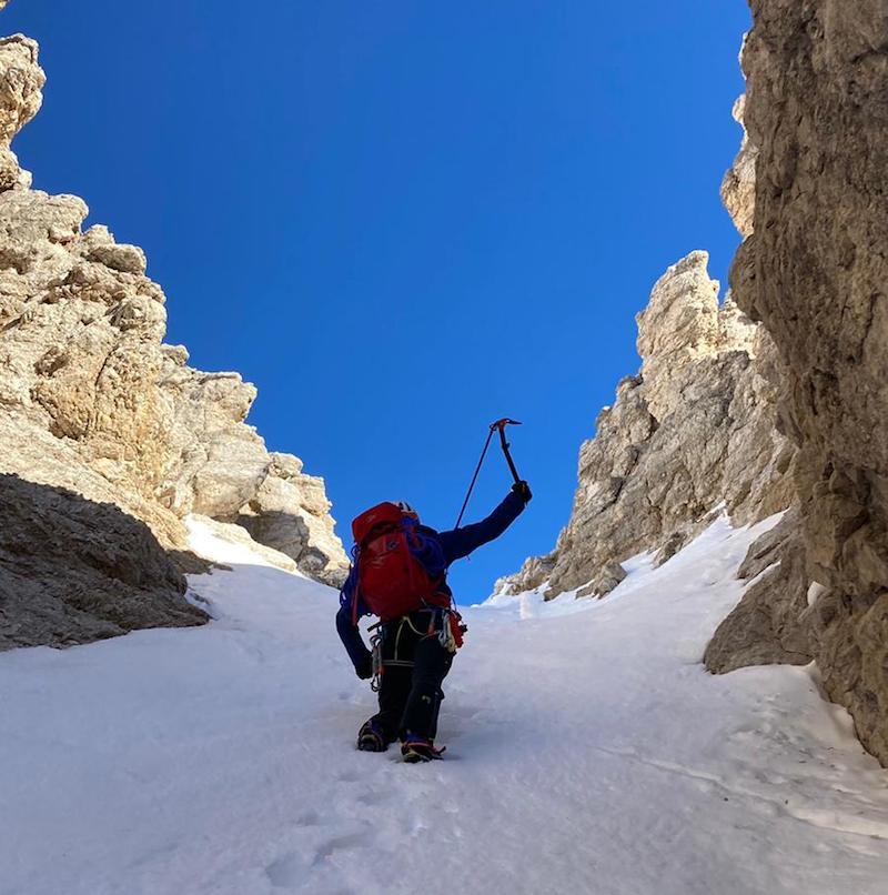 come scegliere la piccozza per alpinismo