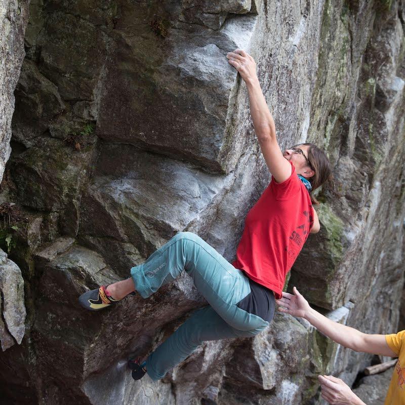 scarpette da arrampicata per boulder