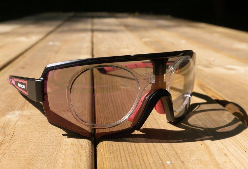 recensione occhiali demon montagna