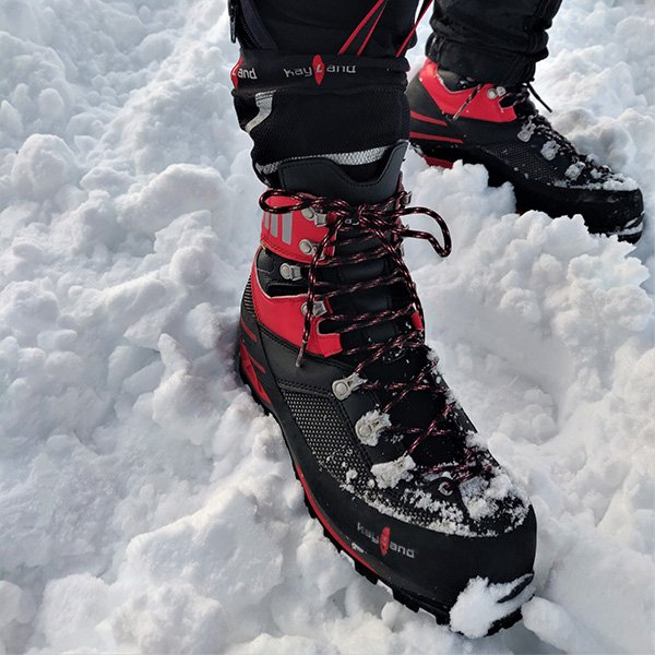 Impermeabilità degli scarponi sulla neve