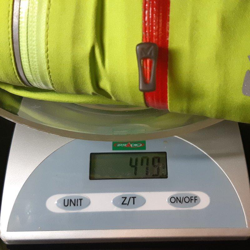 peso giacca alpinismo