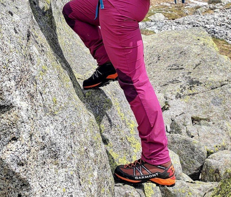 aderenza e sostegno su roccia
