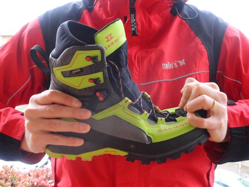 rigidità della suola degli scarponi da alpinismo