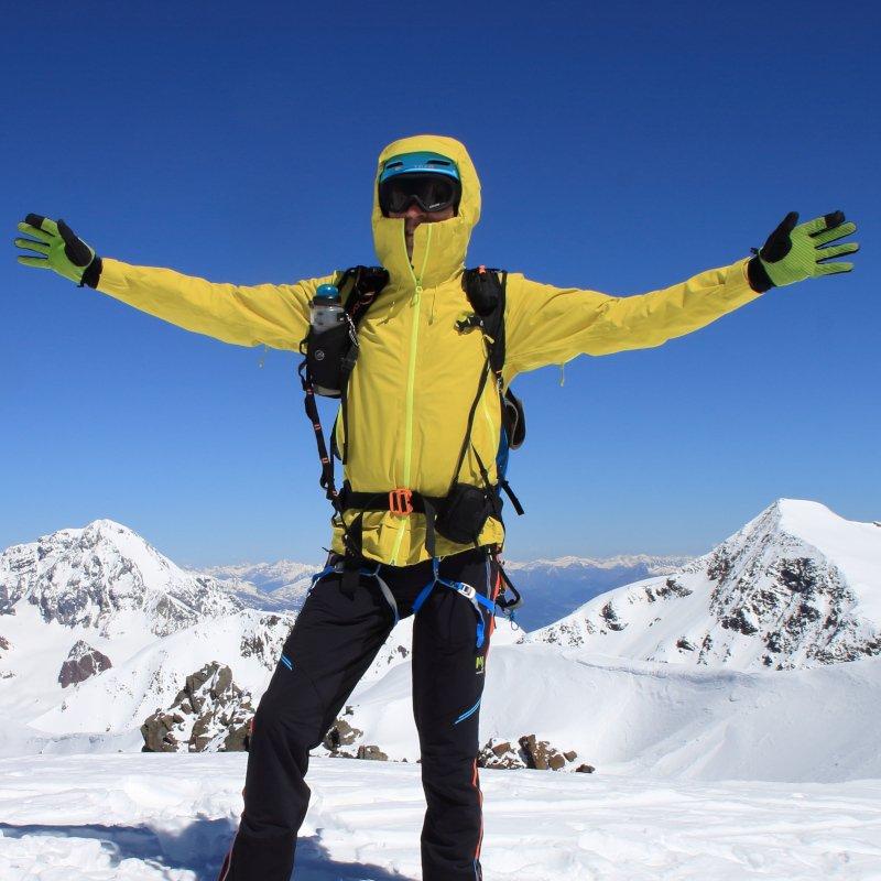 taglia e vestibilità della giacca da alpnismo