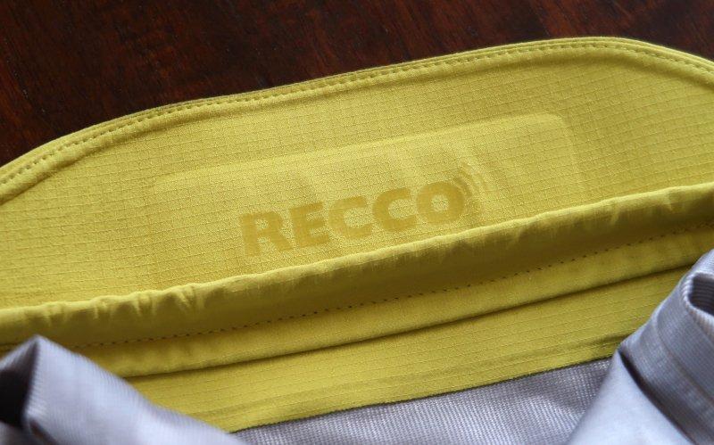 giacca da scialpinismo con sensore Recco