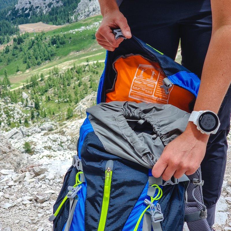 caratteristiche zaini da trekking