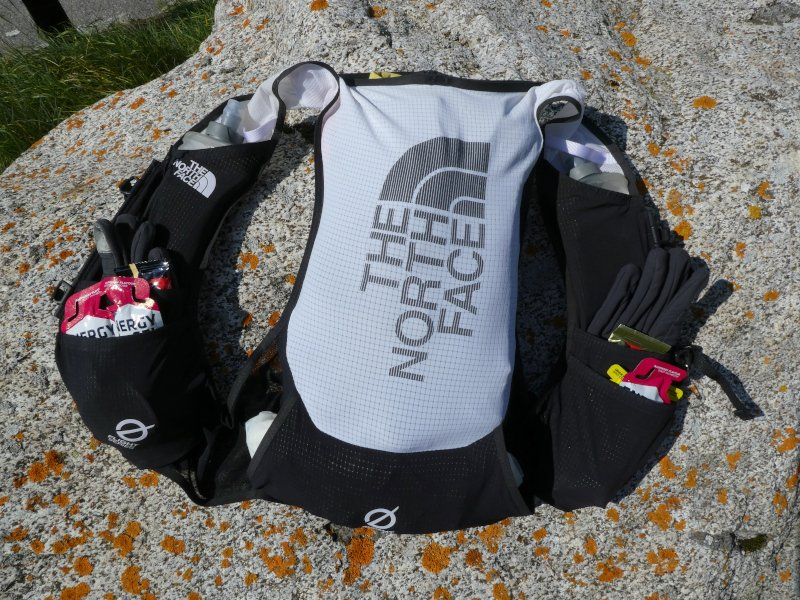 recensione zaino trail running gilet The North Face