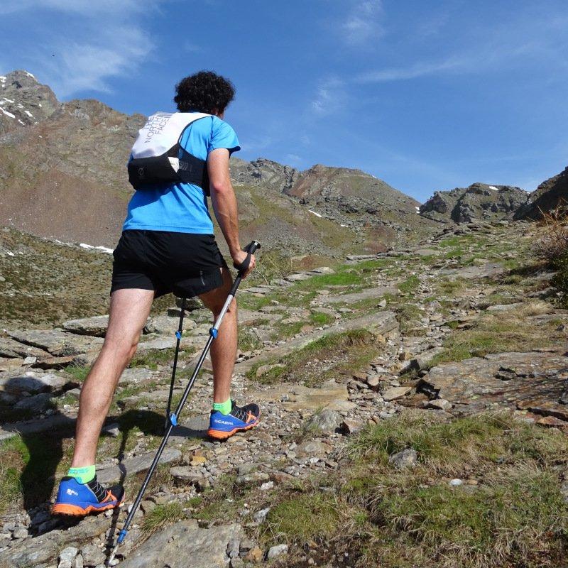 zaino trail running the north face