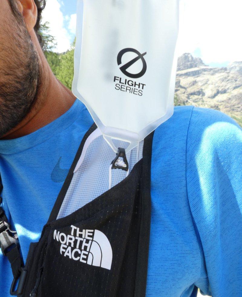 tasca porta borraccia zaino da trail running