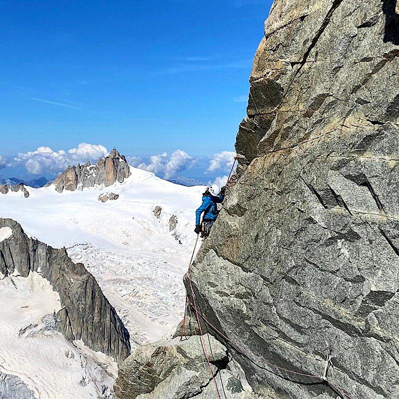 scegliere la corda da alpinismo